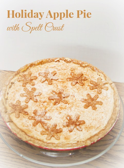 Holiday Apple Pie with Spelt crust Title
