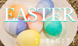 Easter button