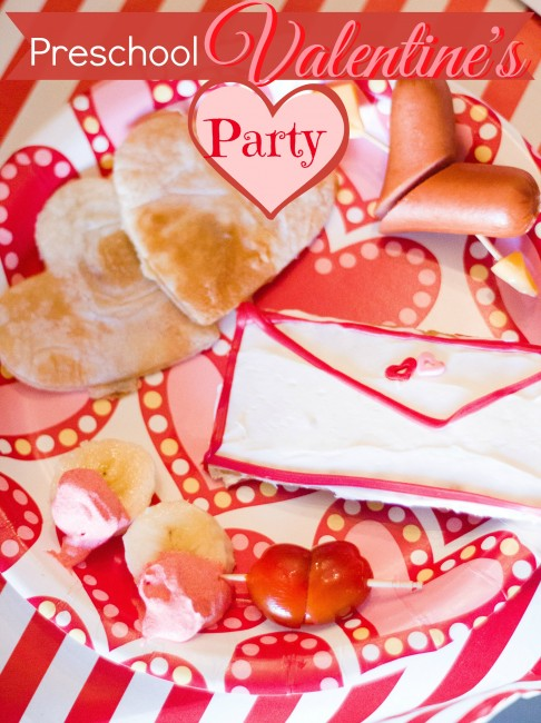 Preschool Valentines Party Title