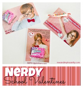 Nerdy School Valentines for your Smarties