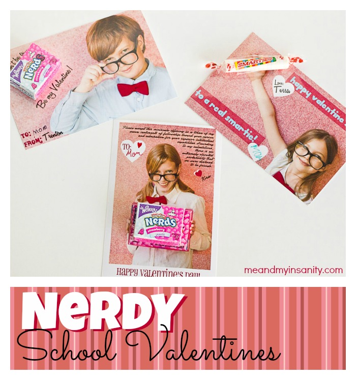 Nerdy School Valentines