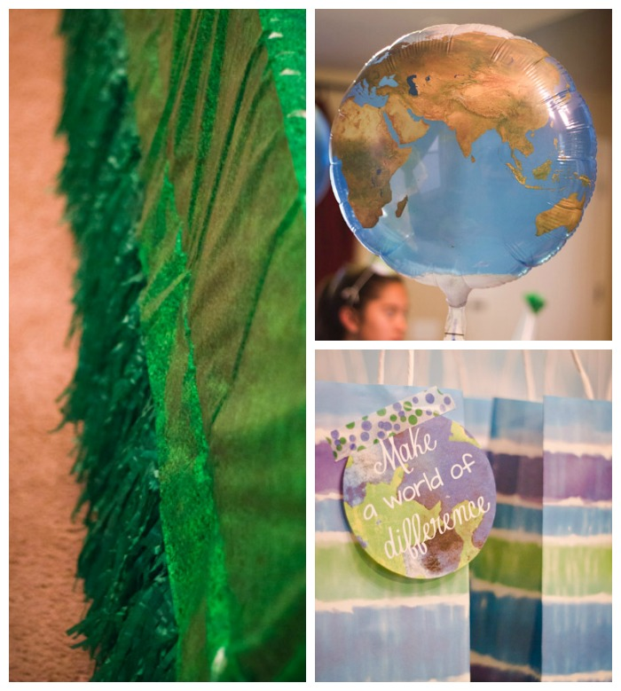 Earth Day Birthday Party Decorations