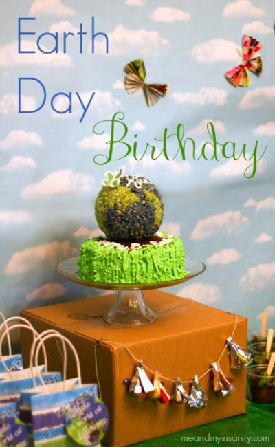 Earth Day Birthday Party Title