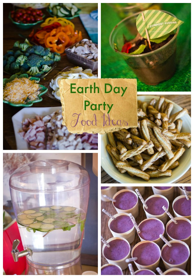 Earth Day birthday food ideas