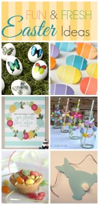 Exciting Easter Ideas (Linky Party Round-up)