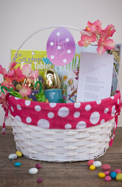 Fancy Nancy Easter Basket-3