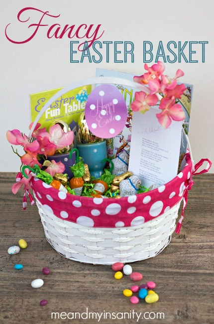Fancy Nancy Easter Basket Gift