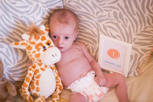 Baby Update – 1 month old