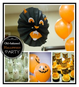 An Old-Fashioned Family Halloween Party