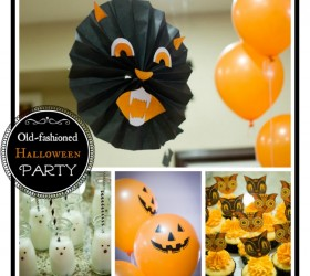 Old Fashioned Halloween Party