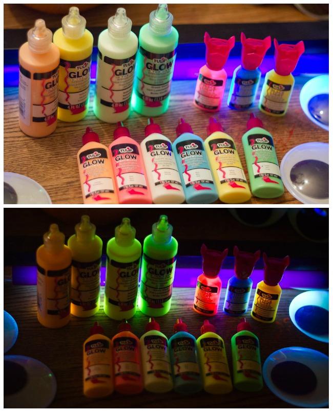 Tulip glow paint
