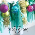 Season To Sparkle pt.4-Messy Garland, Bows and Fringe