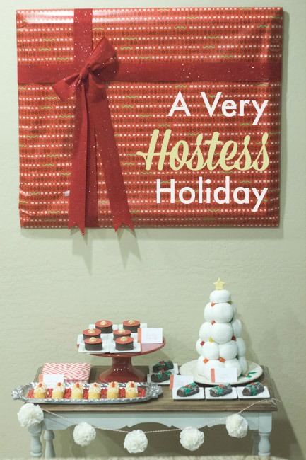 Hostess Holiday Title