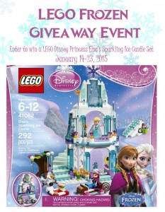 LEGO Frozen Ice Castle Giveaway