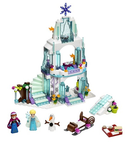 Lego-Frozen-Castle-Built