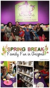 Family Fun Outings – Arizona Style- part 2–As You Wish Pottery Painting Giveaway!