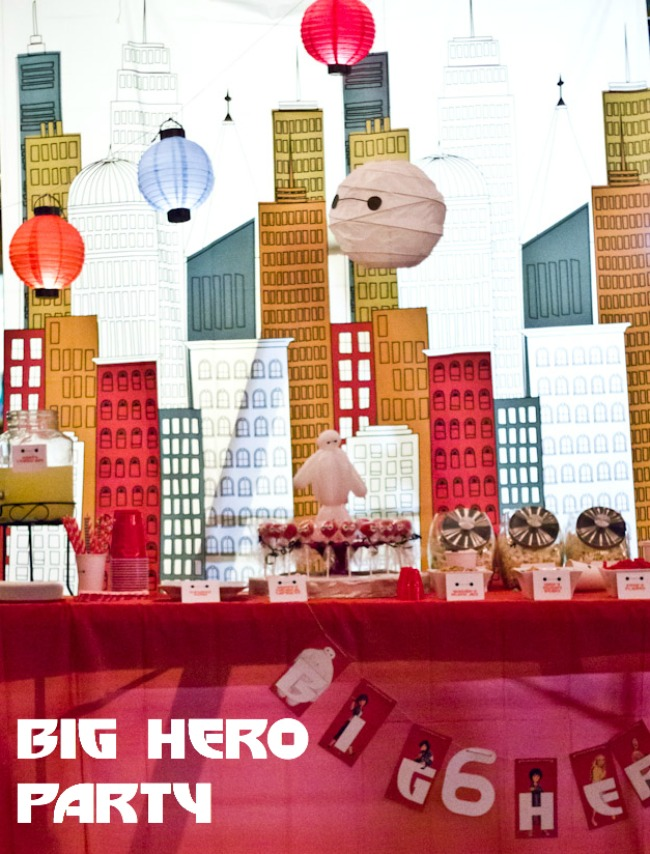Big hero 6 movie party hero