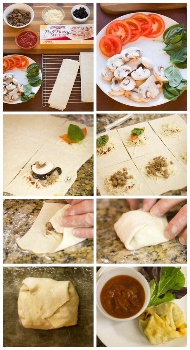 How to make Pizza Puffs
