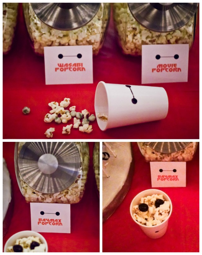 Popcorn Bar Big Hero 6