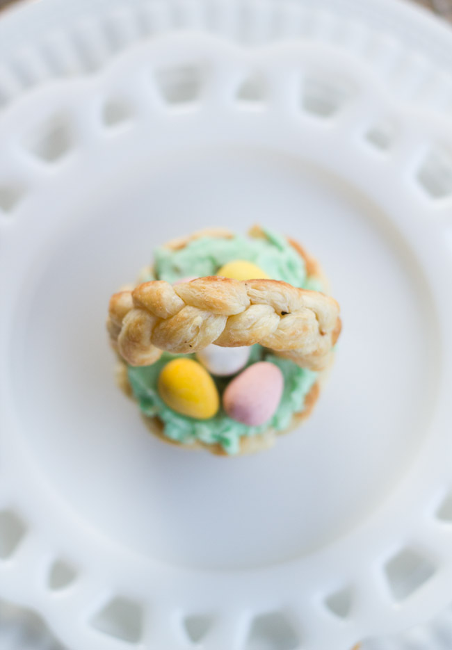 puff pastry Easter Basket-9772
