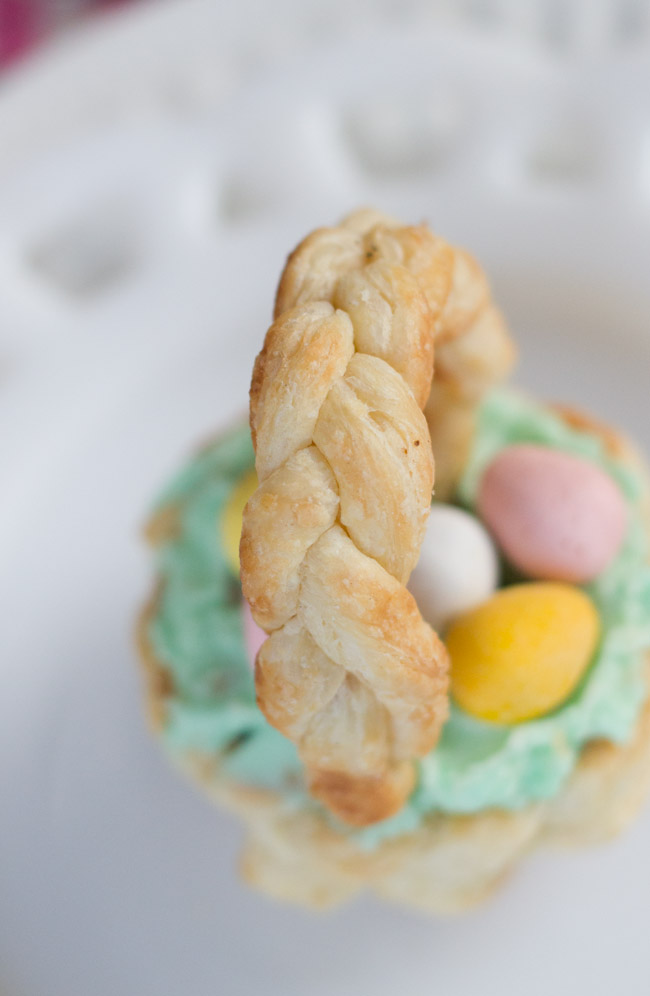 puff pastry Easter Basket-9775