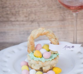 puff pastry Easter Basket-9776