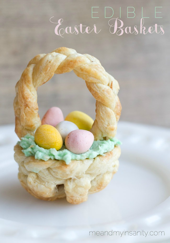 puff pastry Easter Basket Title