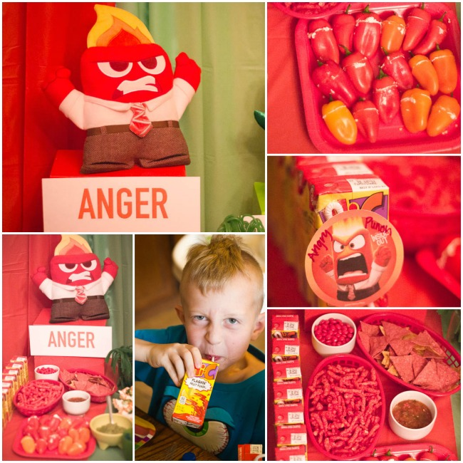 ANGER food Inside Out