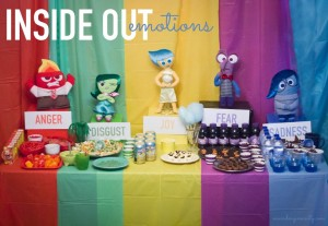 Inside Out Emotions Party