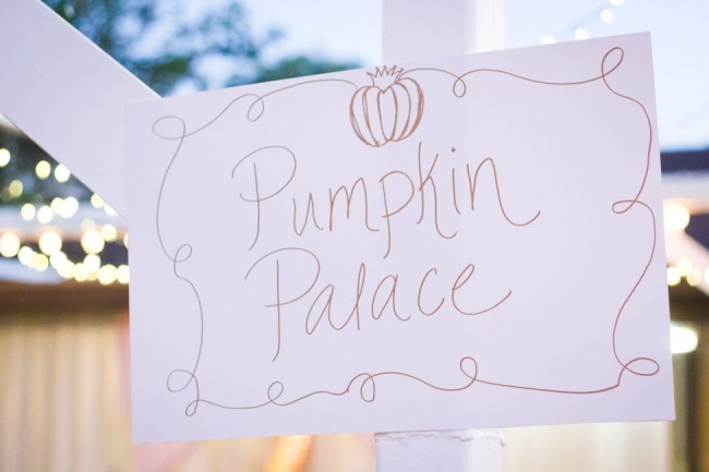 Cinderella party-Pumpkin Palace