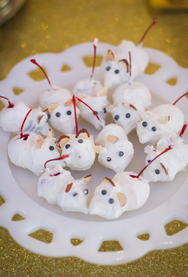 Cinderella party-candy mice