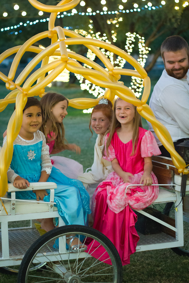 Cinderella party-pony cart rides