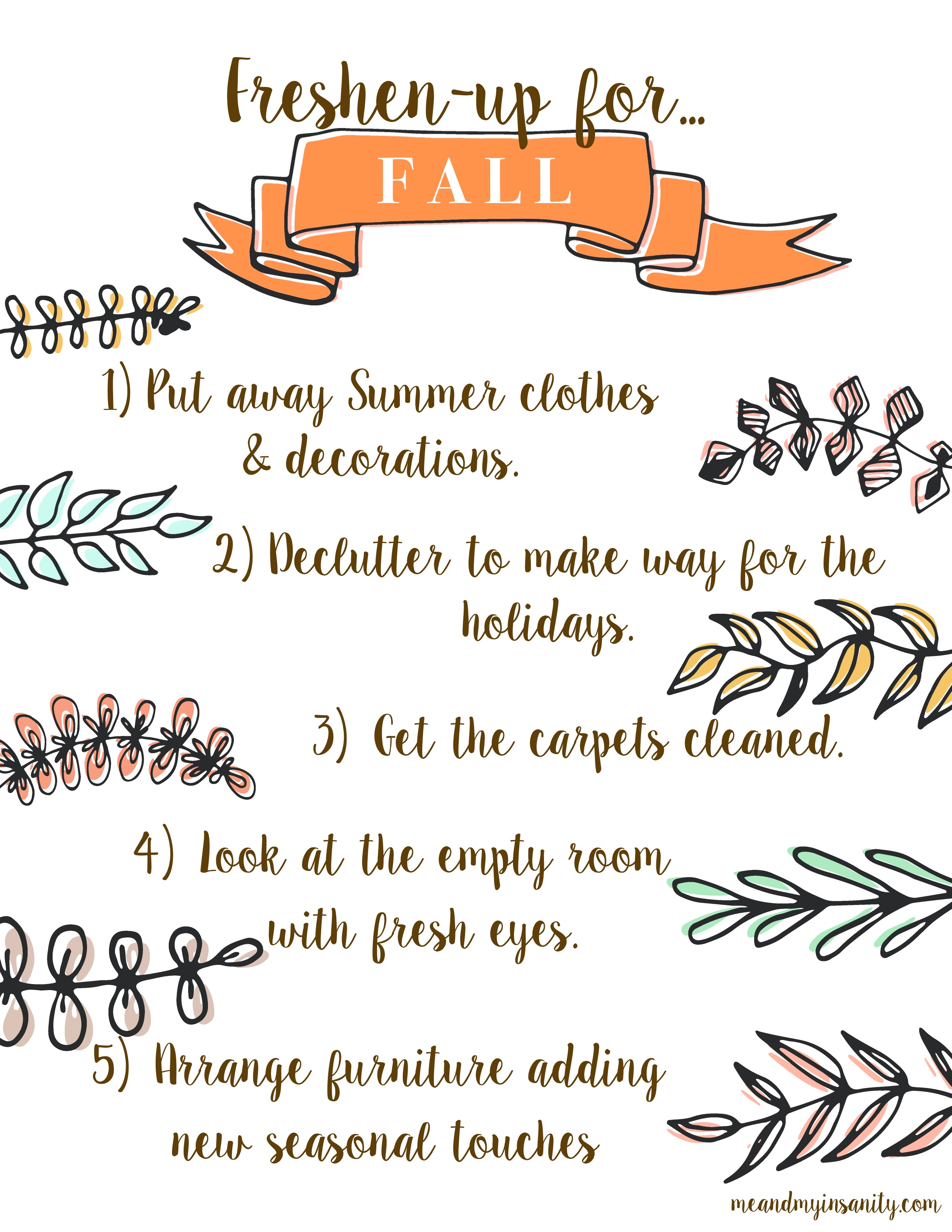 Freshen Up for Fall Tips