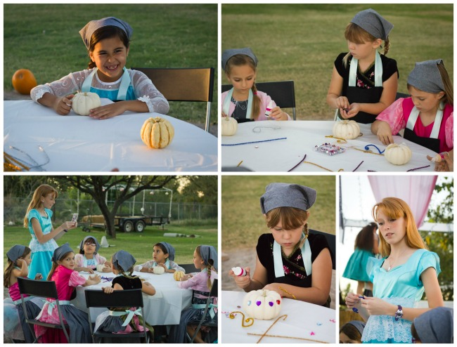 pumpkin Carriage Craft Cinderella Party