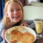 """School's Out for Summer"" Breakfast--Orange Julius and Shaped-Pancakes"