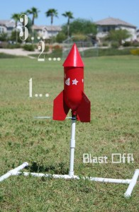 Blast off–The Rocket Launch!