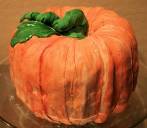 The Great Pumpkin Pumpkin Cake