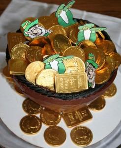 Lucky Leprechaun Cake