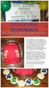 Bionicle birthday party