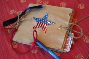 The Log Book–(or paper bag album) A Girls Camp Craft