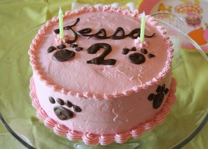 Tessa Turns Two—Pink Puppy Party
