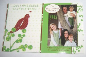 And a Partridge in a Pear Tree—Christmas Card 2008