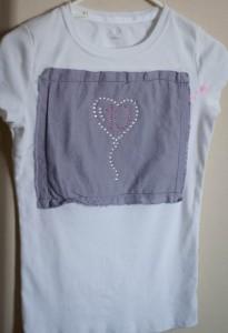 Birthday Bling – Silhouette Rhinestone T-shirt