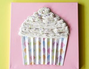 Cupcake Wall Art