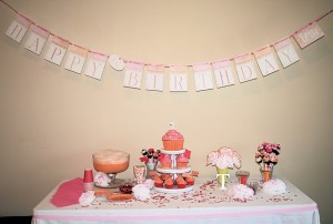 A Sweet Celebration–Tessa's 1st birthday party