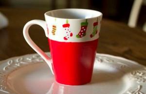Martha Stewart Christmas Mug