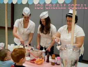 "Primary Ice Cream Social (""Get the Scoop on your Teacher"" Party)"