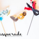 Masquerade Masks - Scribble Shop Challenge