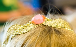 How to Make a Ric Rac Crown with Mod Podge