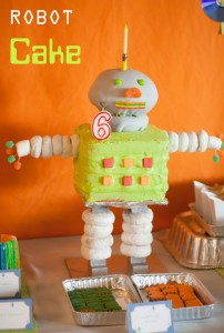 Robot Cake Stand Video Tutorial
